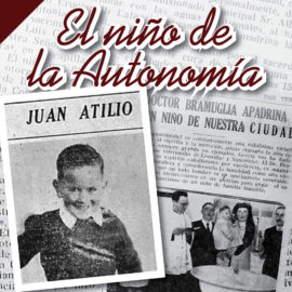 El niño de la Autonomía.